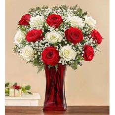 Ramo de rosas alegres y brillantes