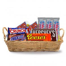 linda cesta de regalos Choco