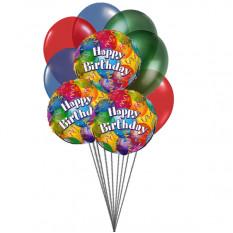 Globos en cumpleaños