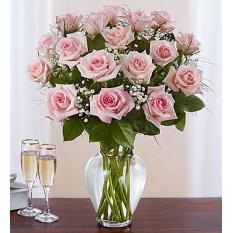 Rose Elegance Premium Stem Rosas rosadas (18 tallos rosa)