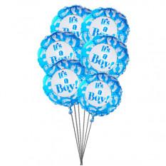 Es globos para niño (3 Látex y 3 globos metalizados)