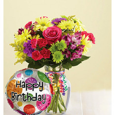 Es Tu Día Feliz Cumpleaños Ramo (Pequeño)