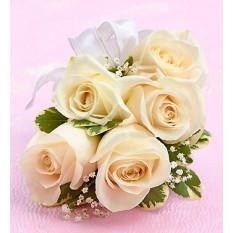Ramillete de Rosa Blanca (Premium)