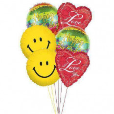Globos de cumpleaños amor