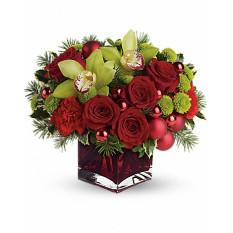 Flores de regalo alegres y brillantes (medio)