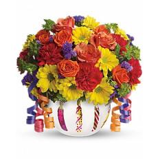 Blooms cumpleaños brillante (Deluxe)