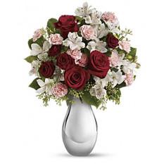 Loco por ti ramo de rosas rojas (Estándar)