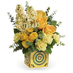 Shimmer Of Thanks Bouquet (Estándar)