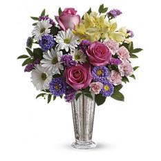 Sonrisa y Shine Bouquet (Estándar)