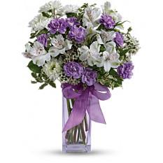 Lavender Laughter Bouquet (Estándar)