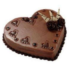 1 kg EGGESS Heartshape Pastel de chocolate