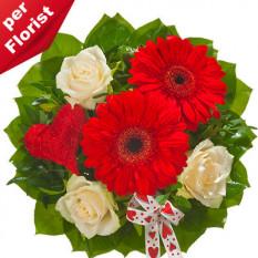 Bouquet de flores Valentino
