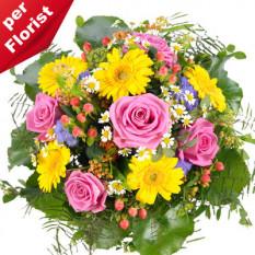 Ramo de flores del prado