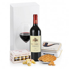 Vin Burdeos, Chocolates Y Galletas
