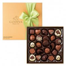 Godiva Decorated Gold Box, 24 piezas