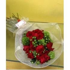 Ramo de rosas con Greenball