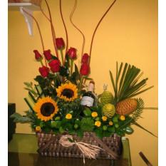 Floral y vino (G-3)