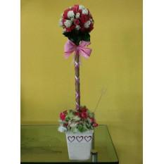 Topiaria De Mini-Rosas (N-2)