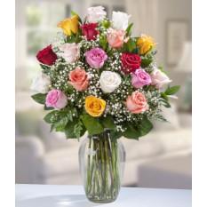 18 Rosas Surtidas