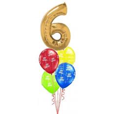 Cumpleaños de un solo número grande (Ingrese la edad)