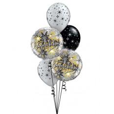 Elegante Sparkles Felicitaciones Bouquet