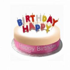 Birthday Cake Sponge Pink (10 pulgadas de cumpleaños torta esponja rosa)