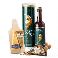 Set de regalo Straffe Hendrik Tripel Beer and Wyngaard Dutch Cheese