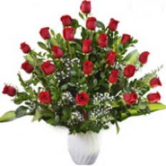 Arreglo de la reina - 24 rosas