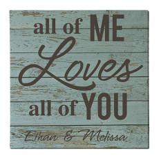 Todo de mí ama a todos ustedes lona