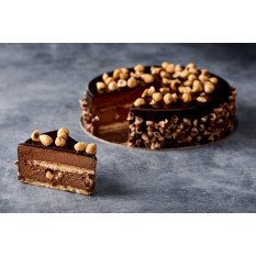 Pastel de trufa de chocolate (6 pulgadas)