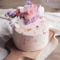 Rose Latte Cake 6 pulgadas