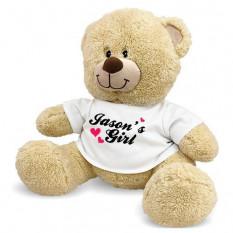 Personalizado My Girl Teddy Bear - 17 pulgadas