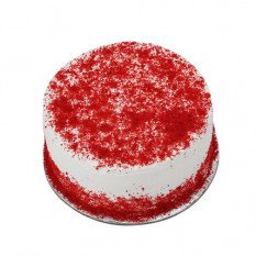 Red Velvet Fresh Cream Cake 1 kg