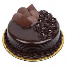 Pastel de chocolate oscuro 1/2 Kg