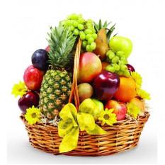 Canasta de frutas extra grande
