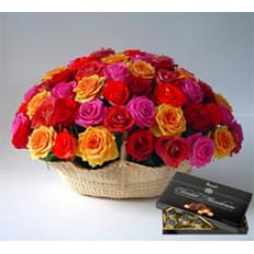 Milagros de amor (12 Rosas + Chocolatesus)