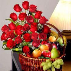 Sensaciones combinadas (12 Rosas + Fruitsus)