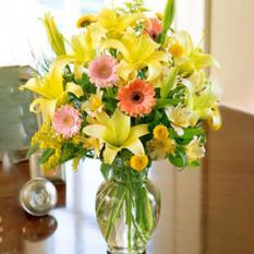 Amanecer (ramo de flores mixtas)