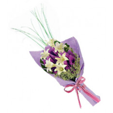 Pretty (6 Liliesus blancas)