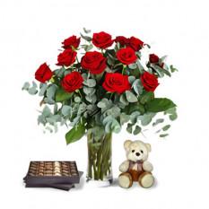 Celebración de las Rosas (12 Rosas)