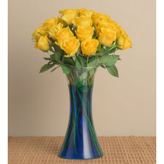 19 Yellow Roses - Sea Breeze (Without Vase)