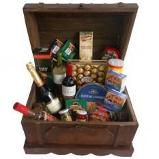 Caja de madera Goumet