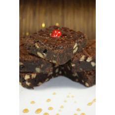 Brownies de chocolate - torta de Cesto