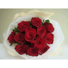 Una docena de rosas rojas Ramo