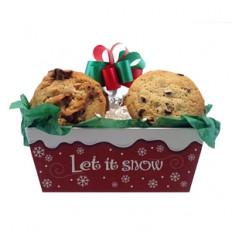 Deja que nieve Bandeja de galletas