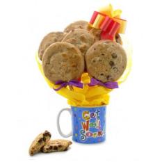 Get Well Mug Bouquet (media docena)