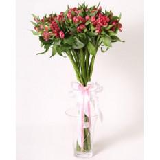 Bouquet encantador de alstromeria (Pequeño)