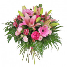 Bouquet of pink flowers (Medium)