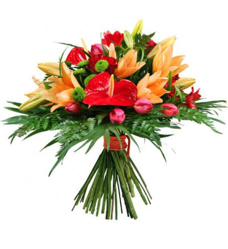 Ramo De Flores Eres Mi Amor