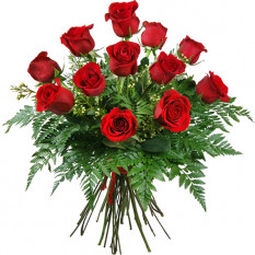Ramo de 12 rosas amor